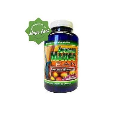 African Mango Lean Advanced Weightloss 60 Capsules