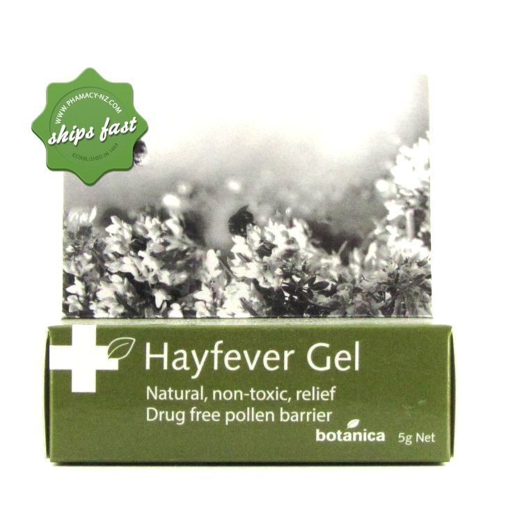 Botanica Hayfever Gel 5g