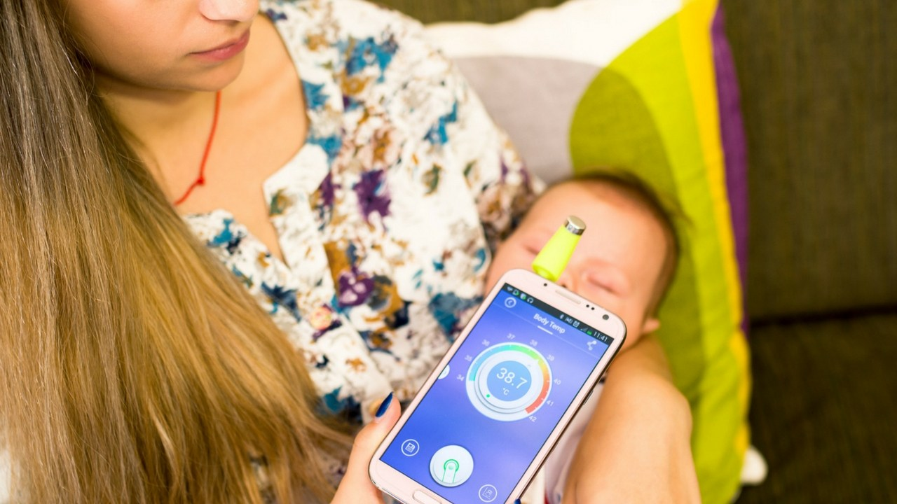 Wishbone Iphone Thermometer