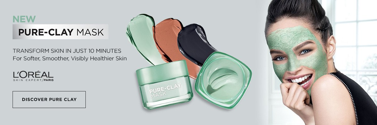 L'Oreal Pure Clay Multi-masking. Get a Custom Clay Mask ...